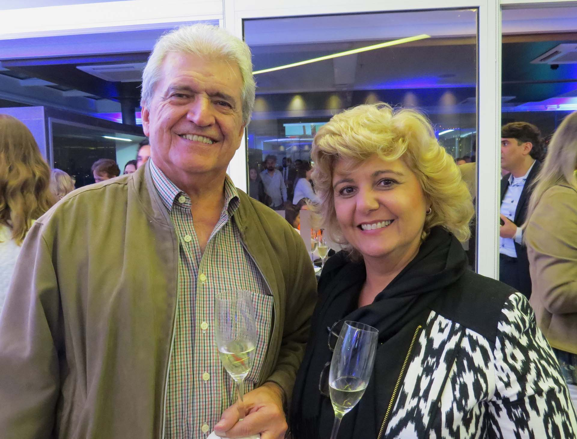 Sergio Mota Couto e Lucia Mota Couto, da LHC Viagens