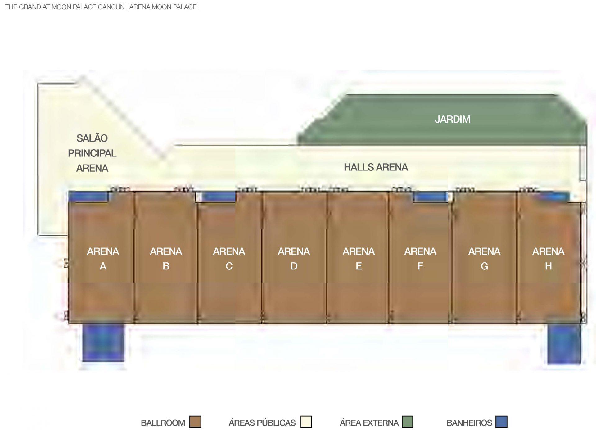 The Grand at Moon Palace Cancun - Arena Moon Palace Planta Baixa