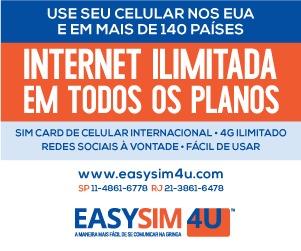 Easysim4u - Use seu celular em mais de 140 países!
