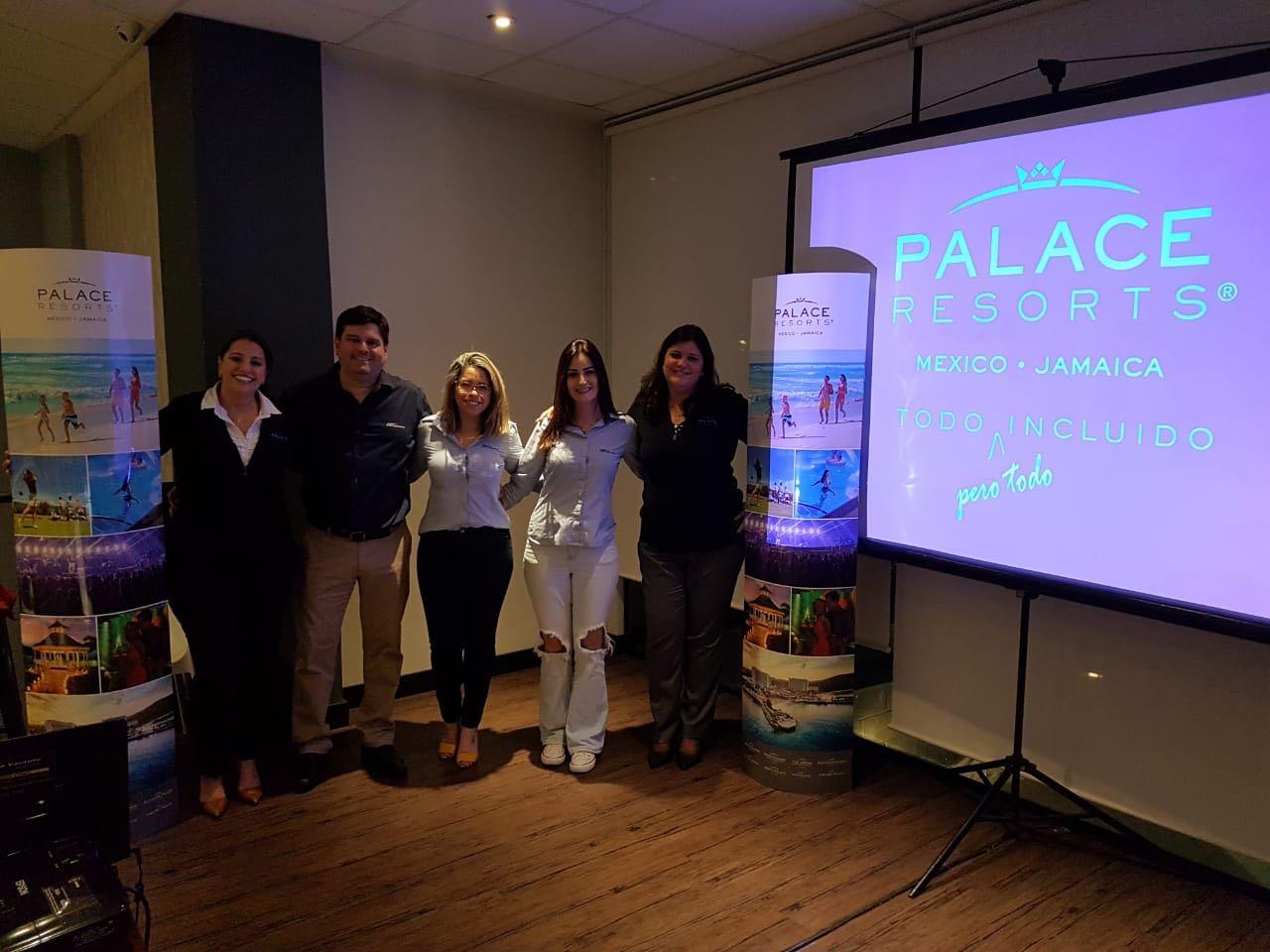 Em parceria, rede Palace Resorts e FRT Operadora realizaram evento em Juiz de Fora