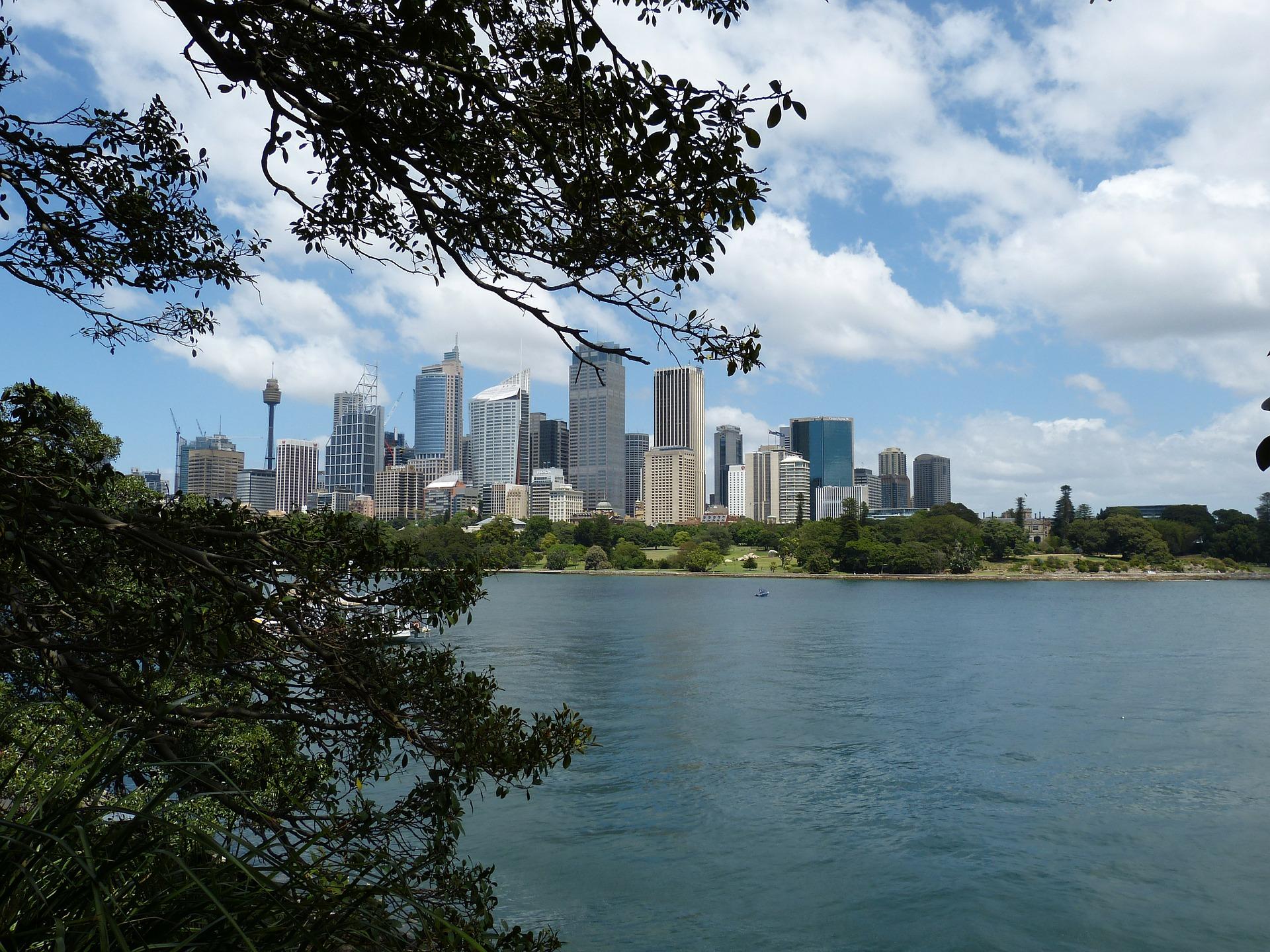 O skyline de Sidney