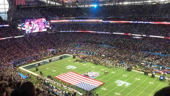 Os jogos da NFL também fazem parte da agenda esportiva da Fanato
