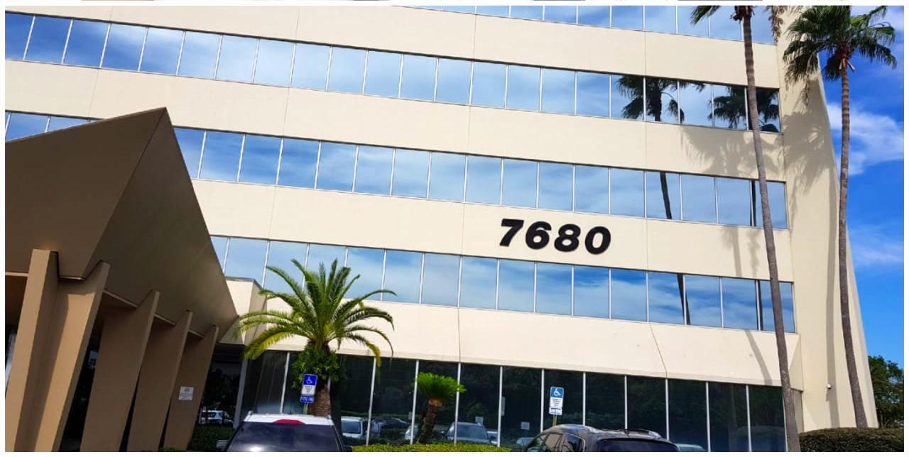 Detalhe do prédio onde está localizado o escritório do ITA Seguro Viagem