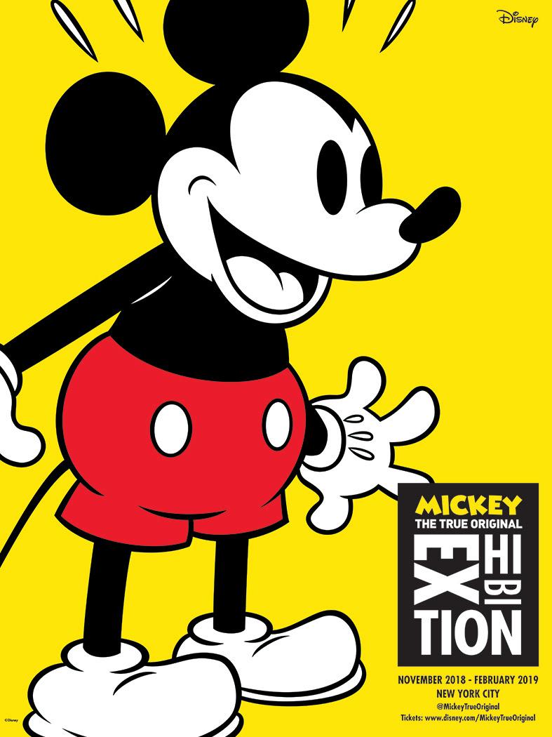 Mickey exposição Nova York