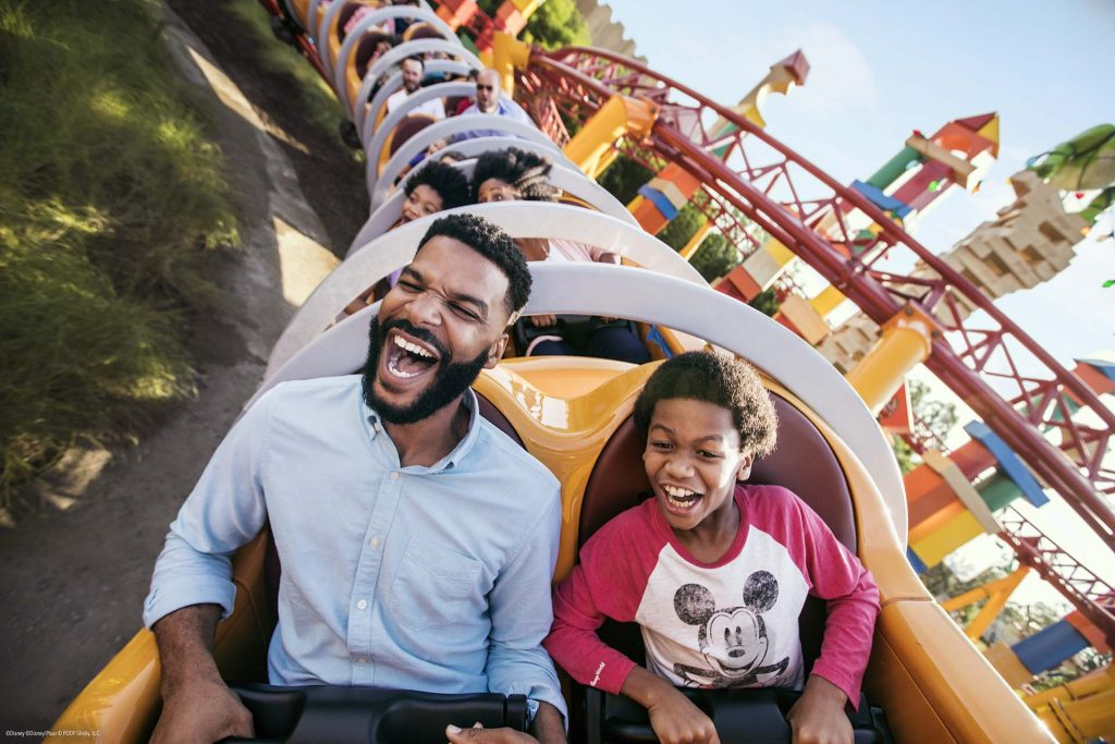 Slinky Dog Dash, a montanha russa de Toy Story Land, no Disney's Hollywood Studios