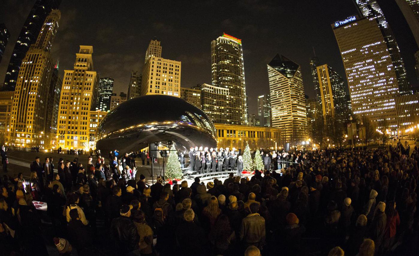 Chicago se ilumina e ganha uma programação rica e variada para as festas de final de ano