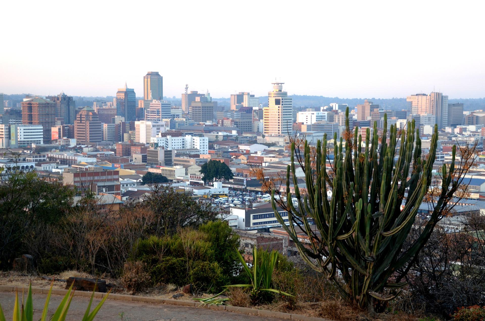 Harare, capital do Zimbabue