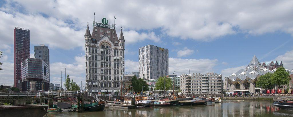 Skyline de Roterdã, na Holanda