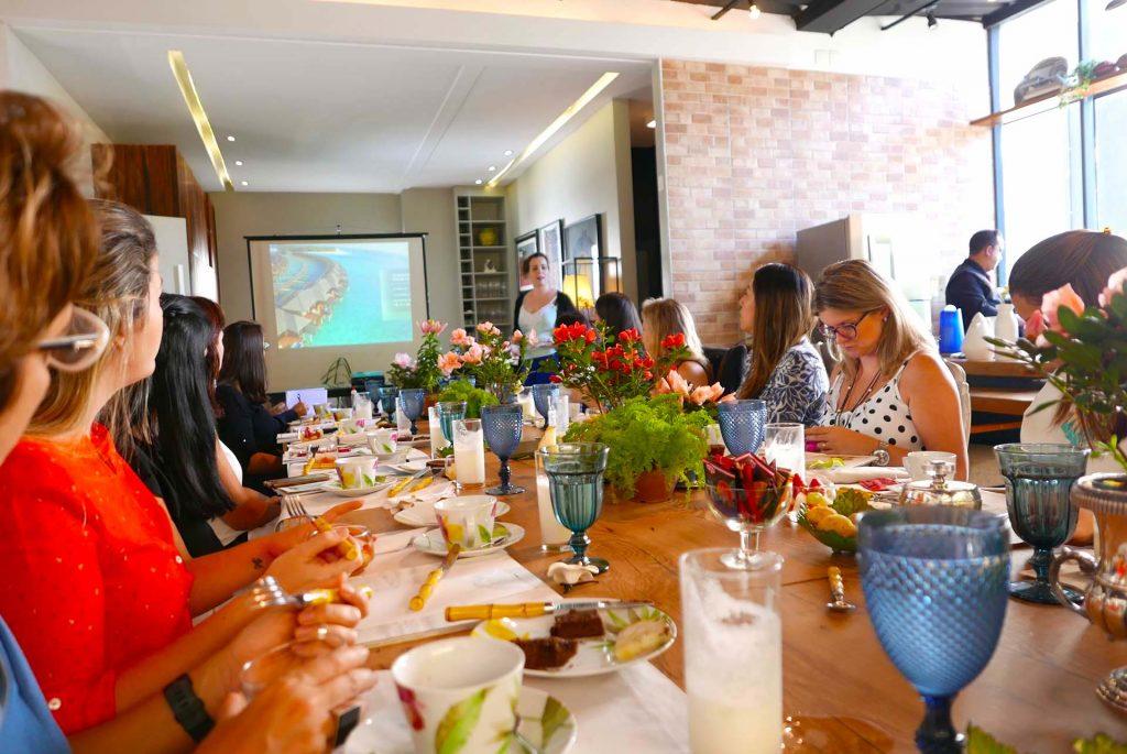 Café da manhã evento FVO Maldivas