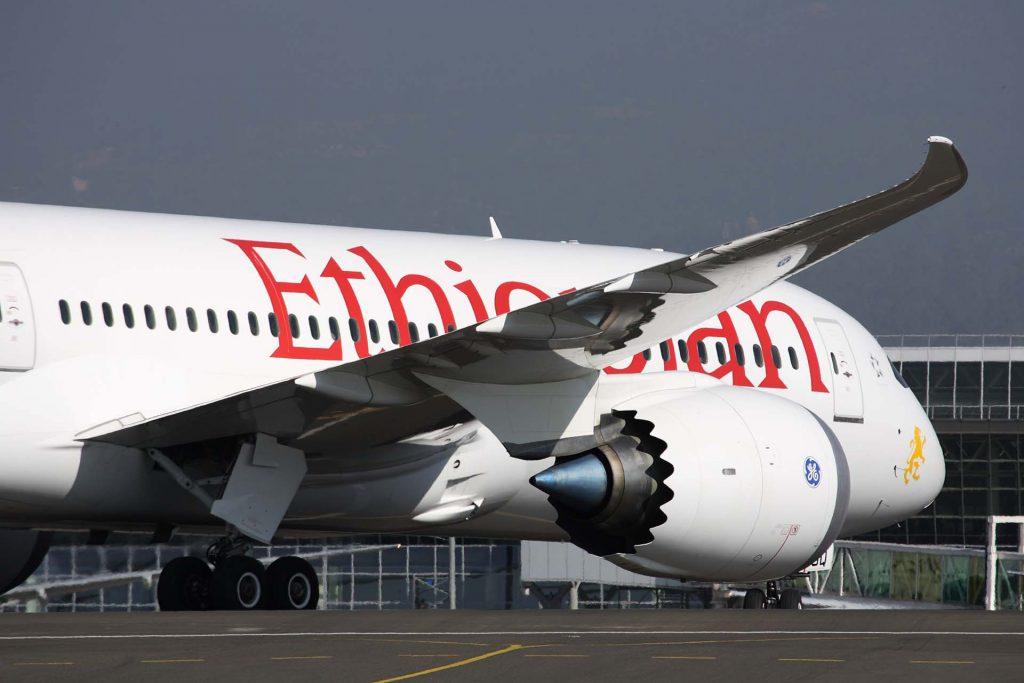 Avião da Ethiopian Airlines