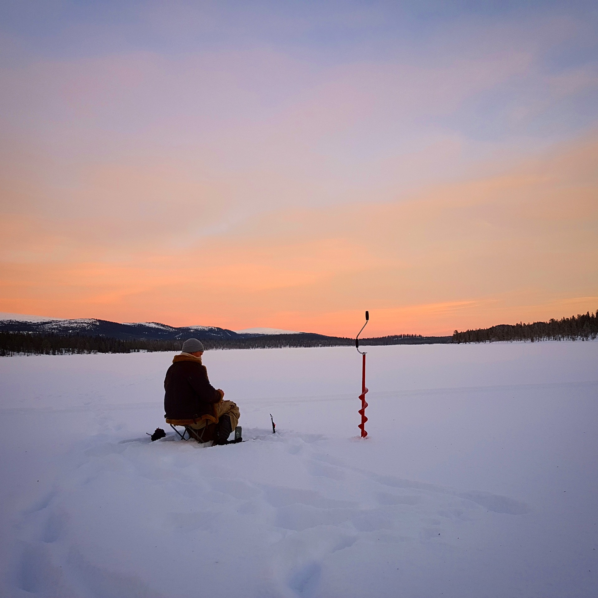 Ice Fishing pescando gelo liturgia russa rússia