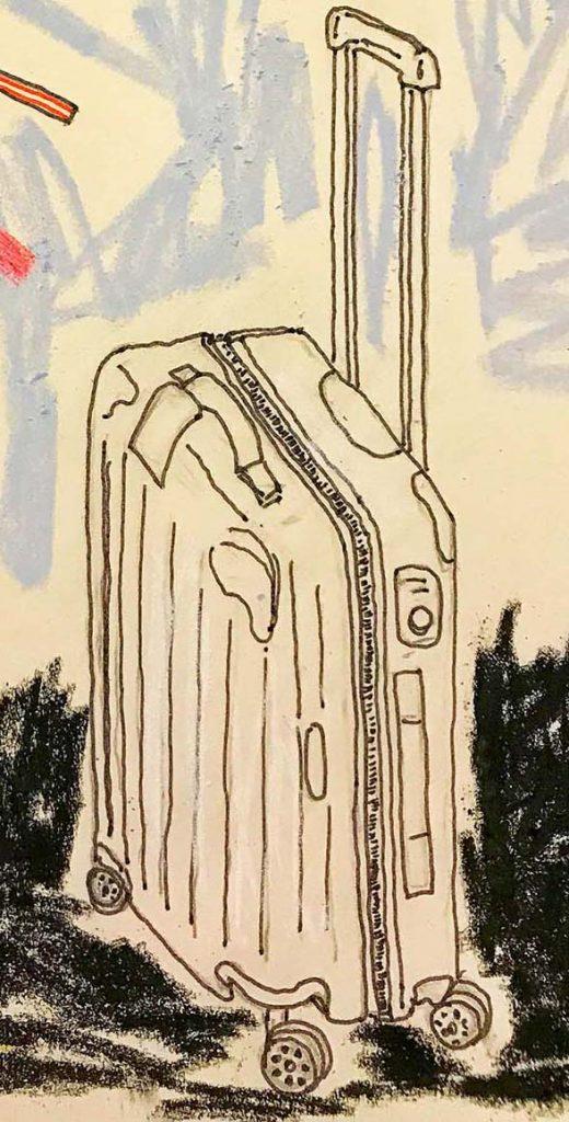 Viagem consciente desenho Claudia Tonaco