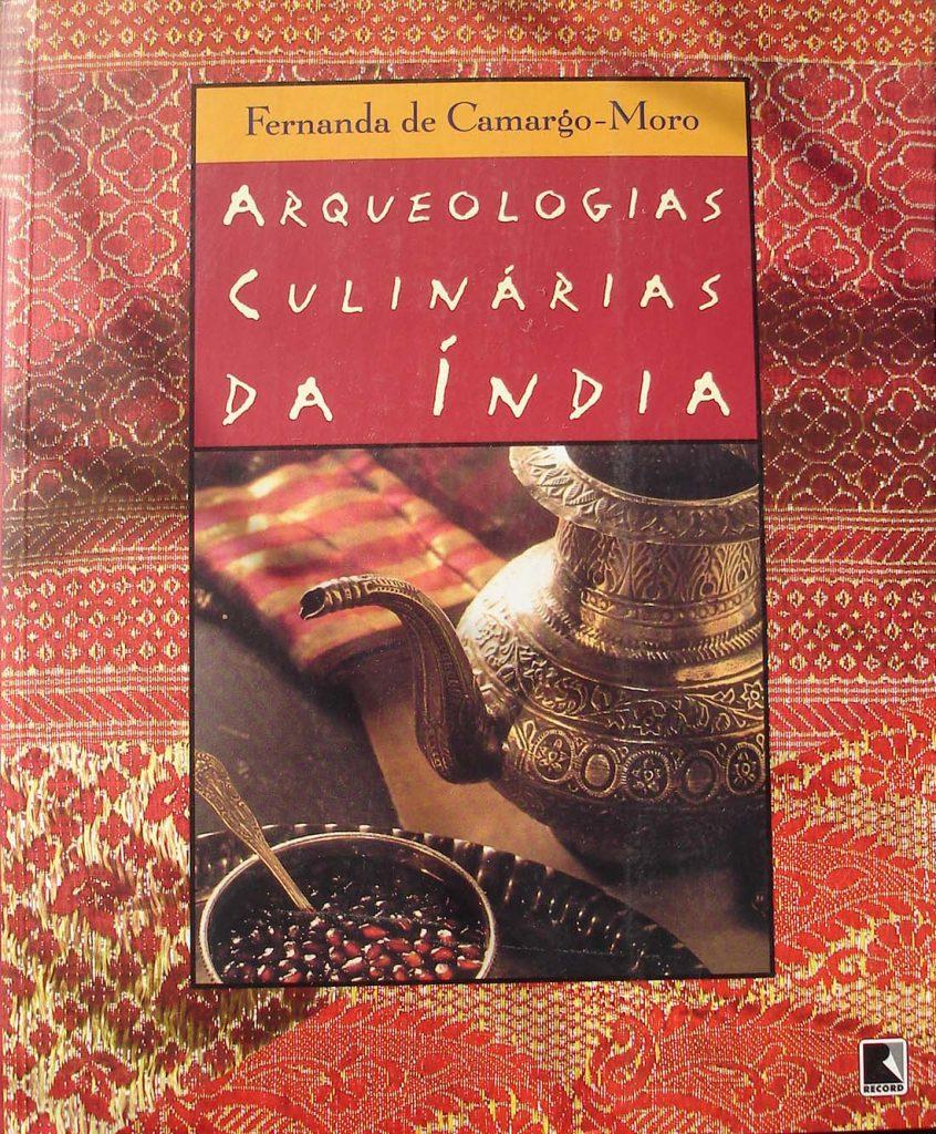 Índia livro Arqueologia Culinária da Índia