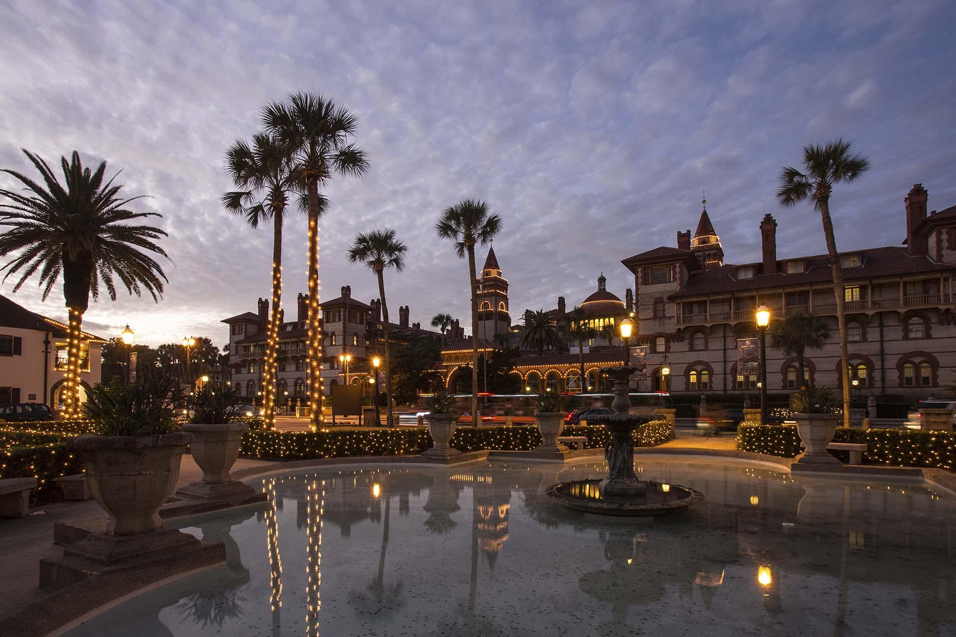 A bela St. Augustine, na Flórida (Foto: Jackie Hird/BrandUSA/Divulgação)