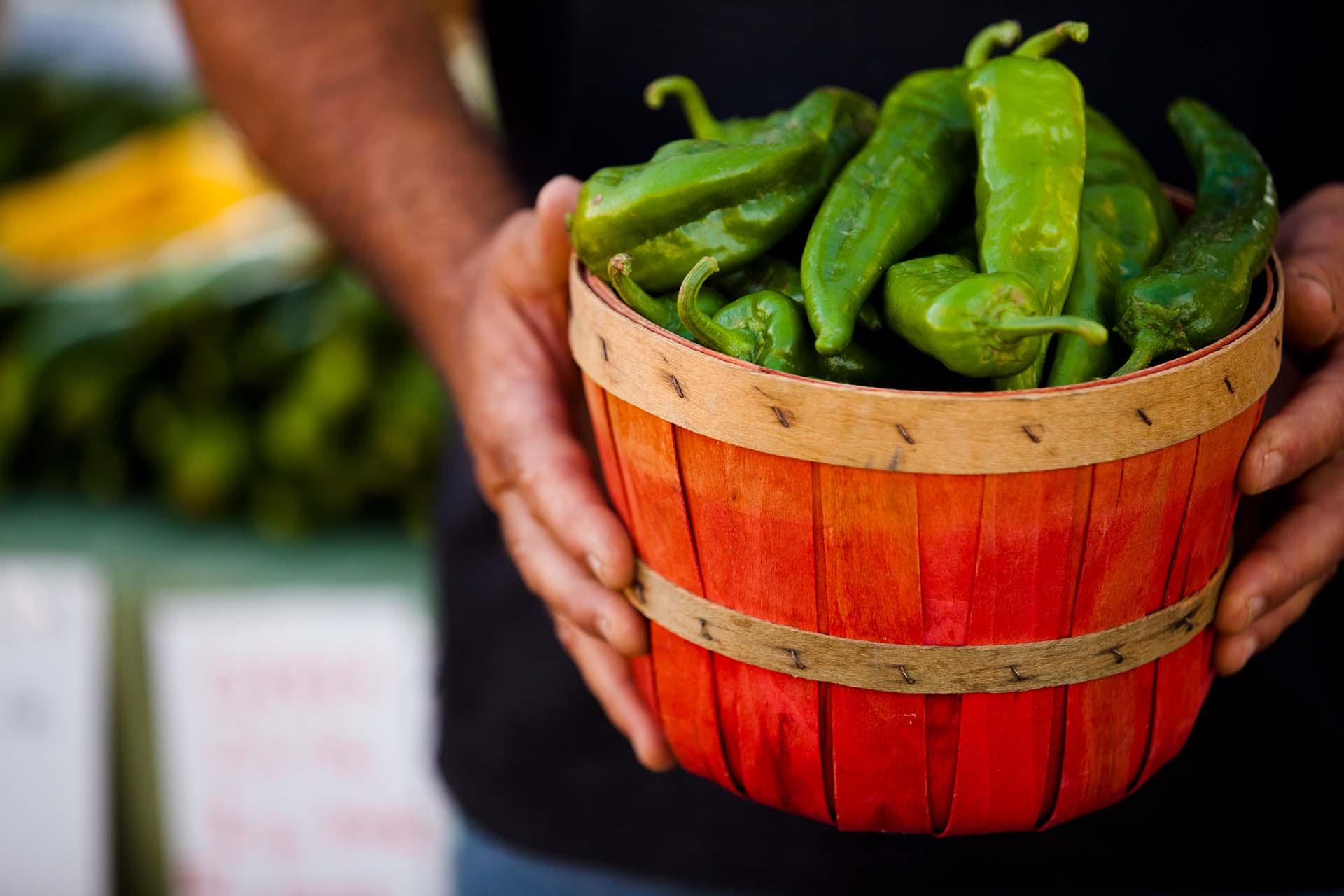 Novo México O green chile produzido nas fazendas de Santa Fe (Foto: Turismo de Santa Fe/Divulgação)