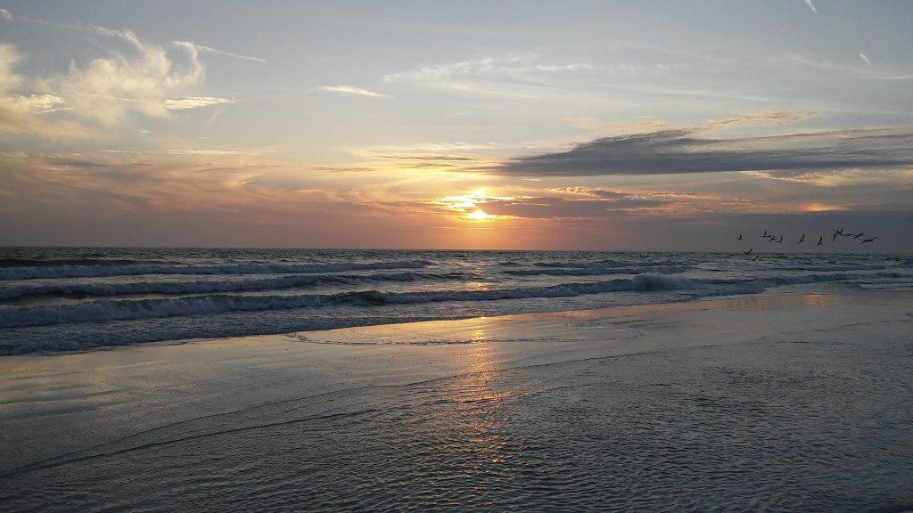 O belo litoral de Venice Beach, na Flórida (Maine Coast/Divulgação)