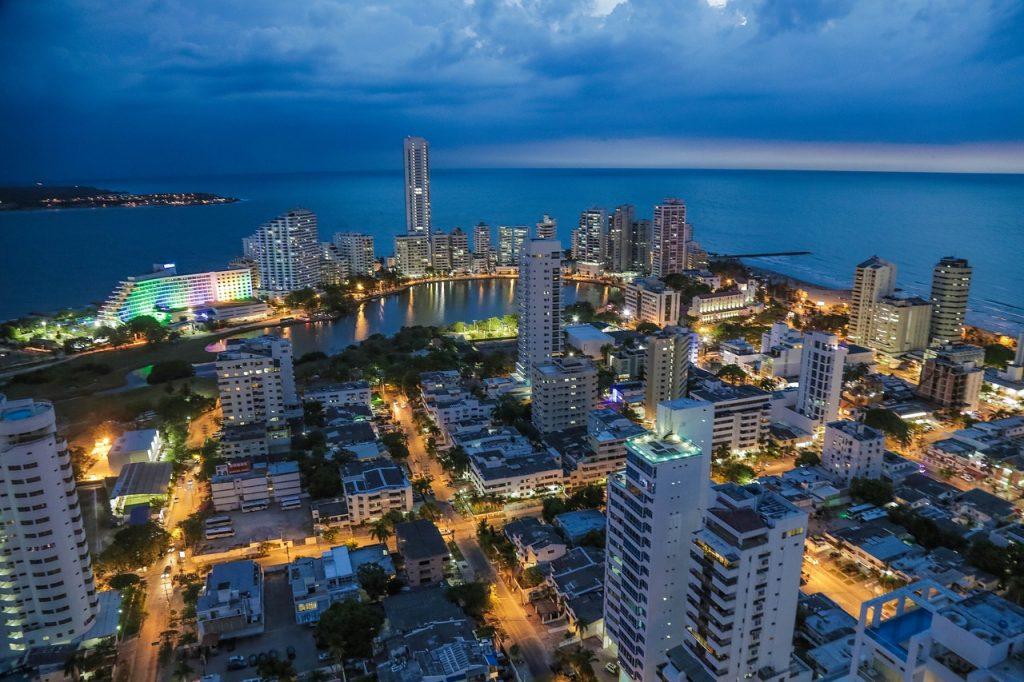 Vista Aérea de Cartagena das Índias