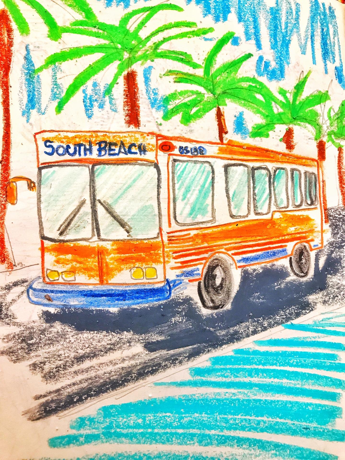 Ônibus Miami