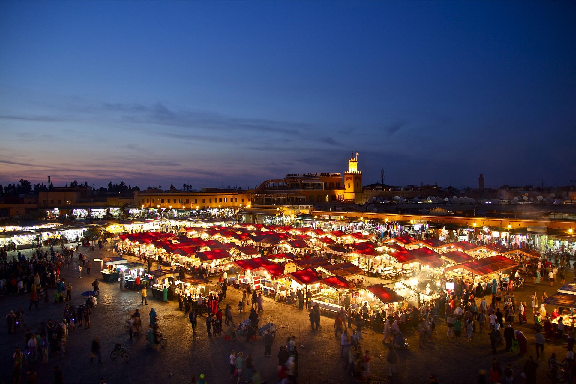 Embarcar para o Marrocos