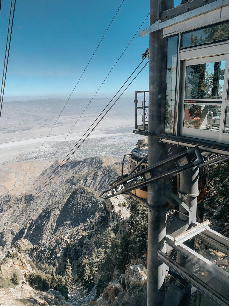 Vamos pra Califórnia Teleférico Palm Springs