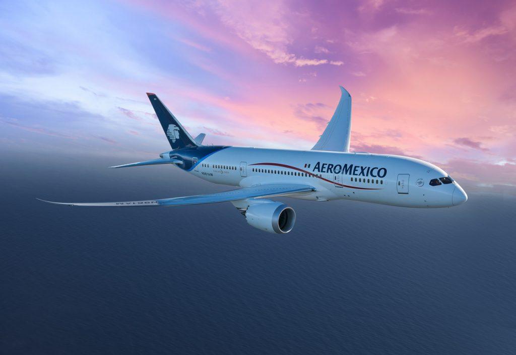 Aeromexico atualiza