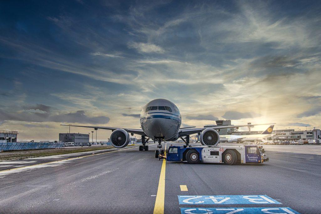 Avião - serviço de solo