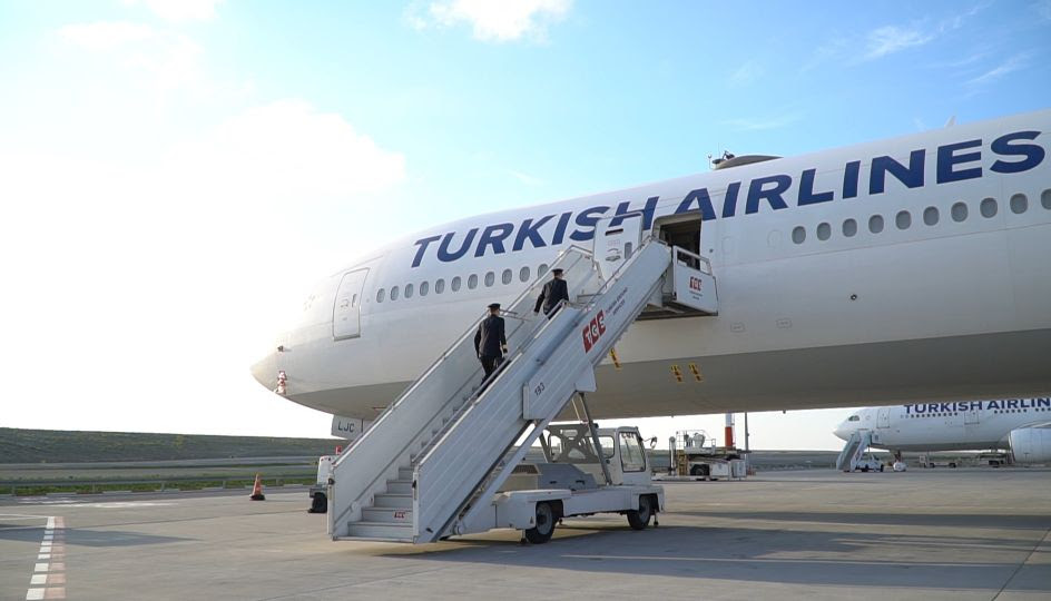 Turkish Airlines homenageou