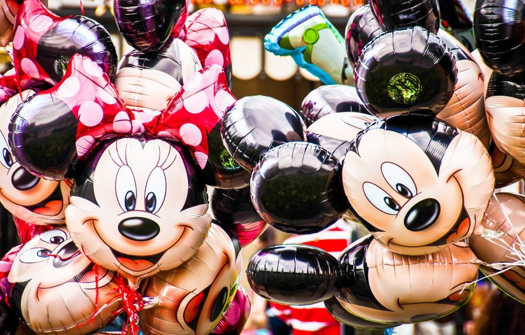 Balões Disney Mickey Minnie
