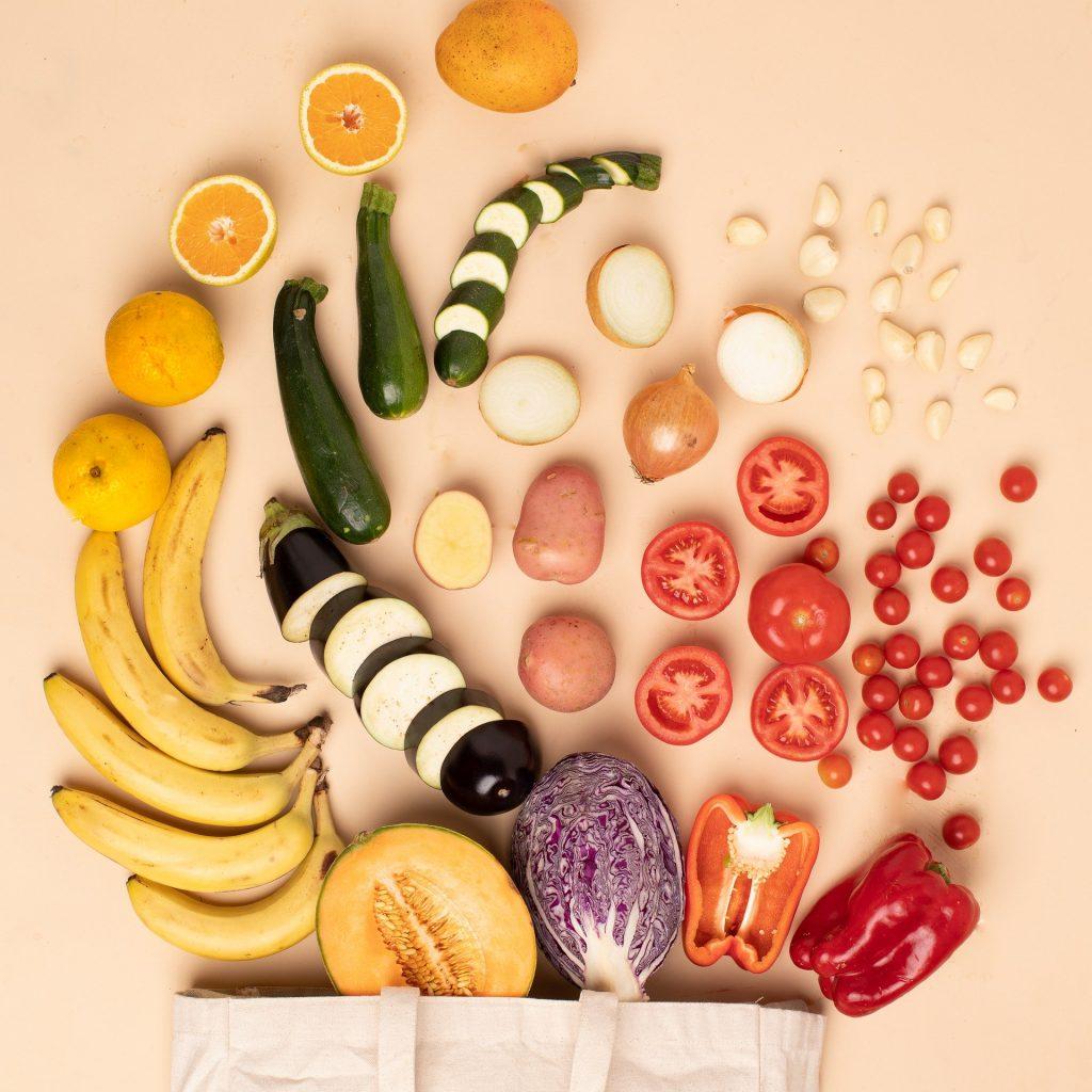 Frutas verduras projeto fartura