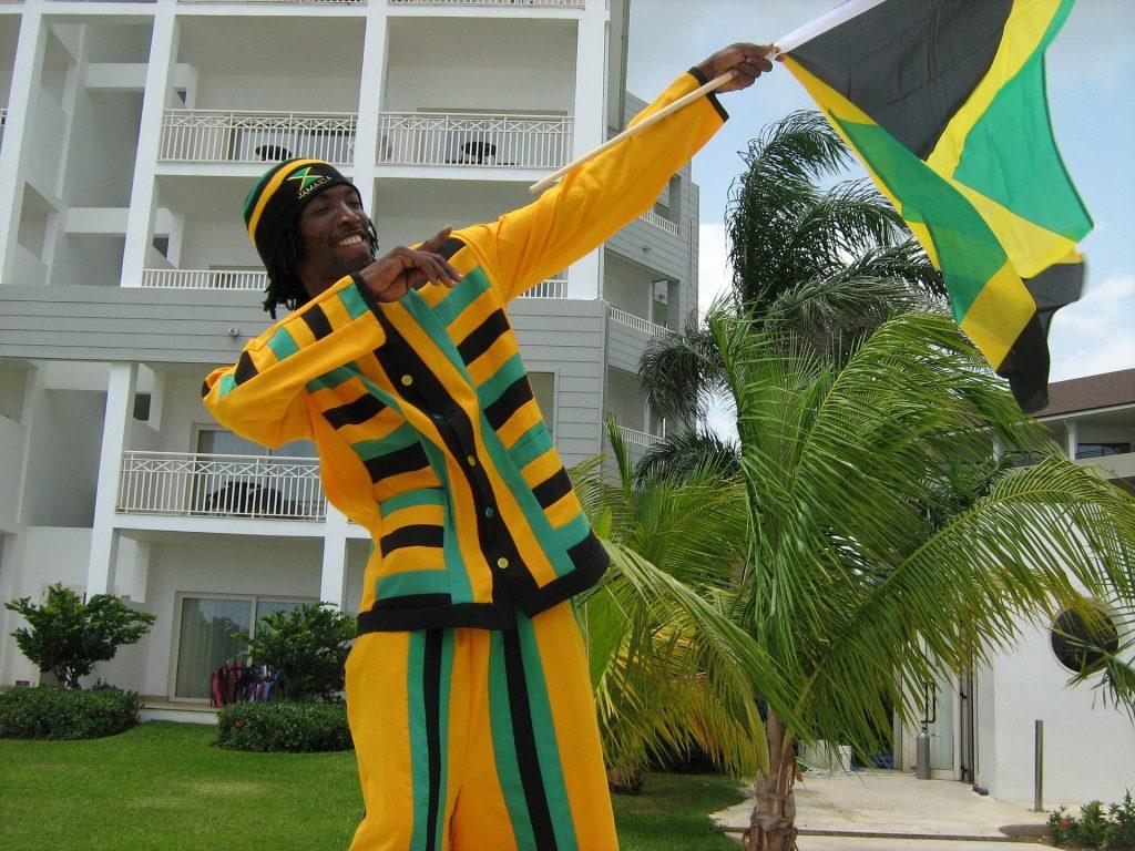 Jamaica bandeira