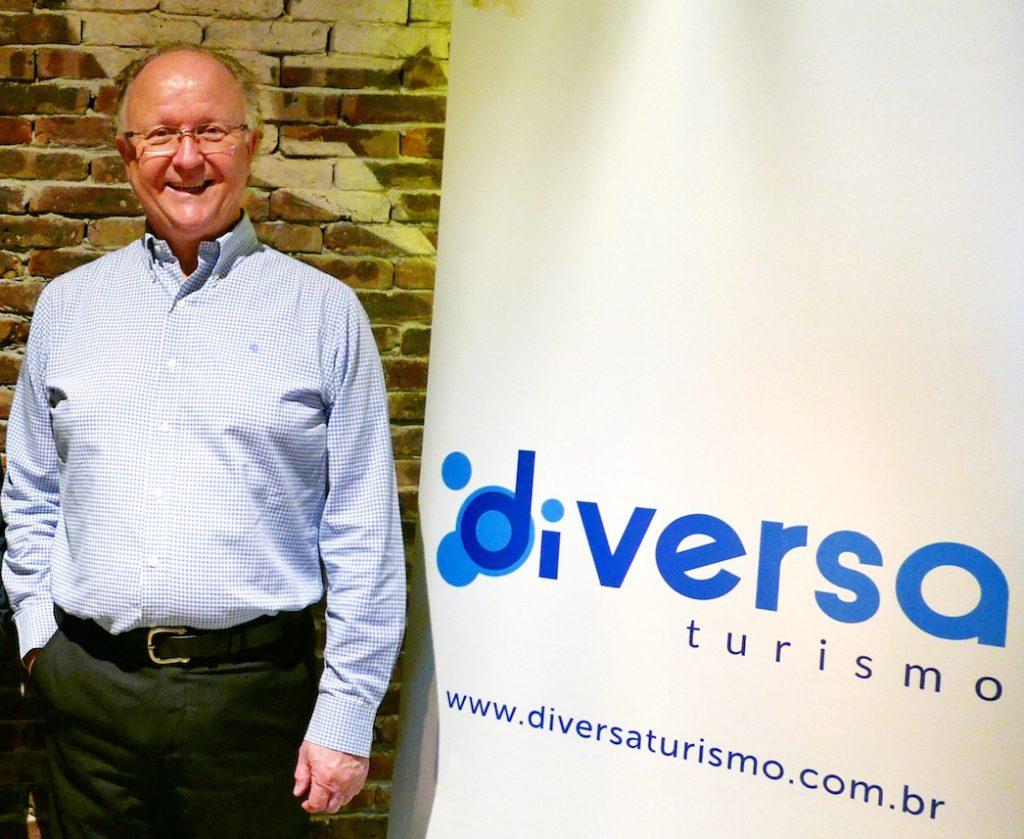 James Giacomini, diretor da Diversa Turismo (Foto: Claudia Tonaco)