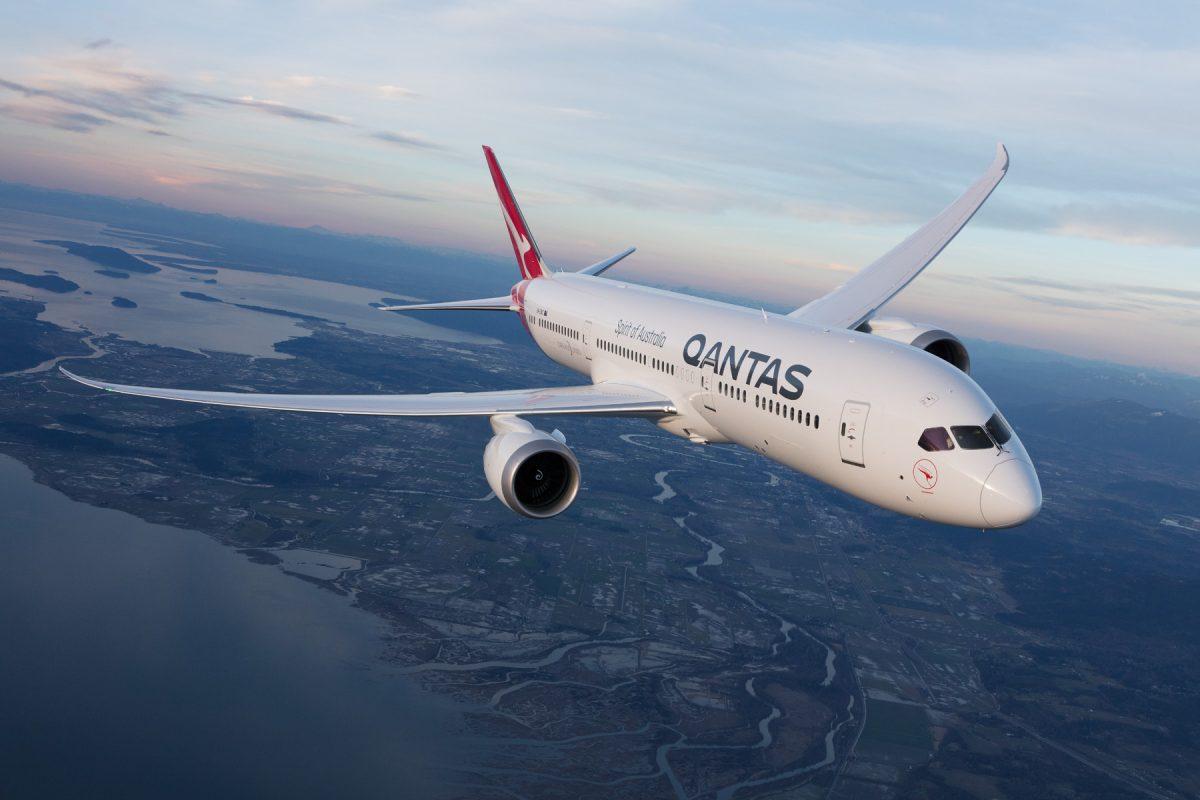 Qantas Airways avião