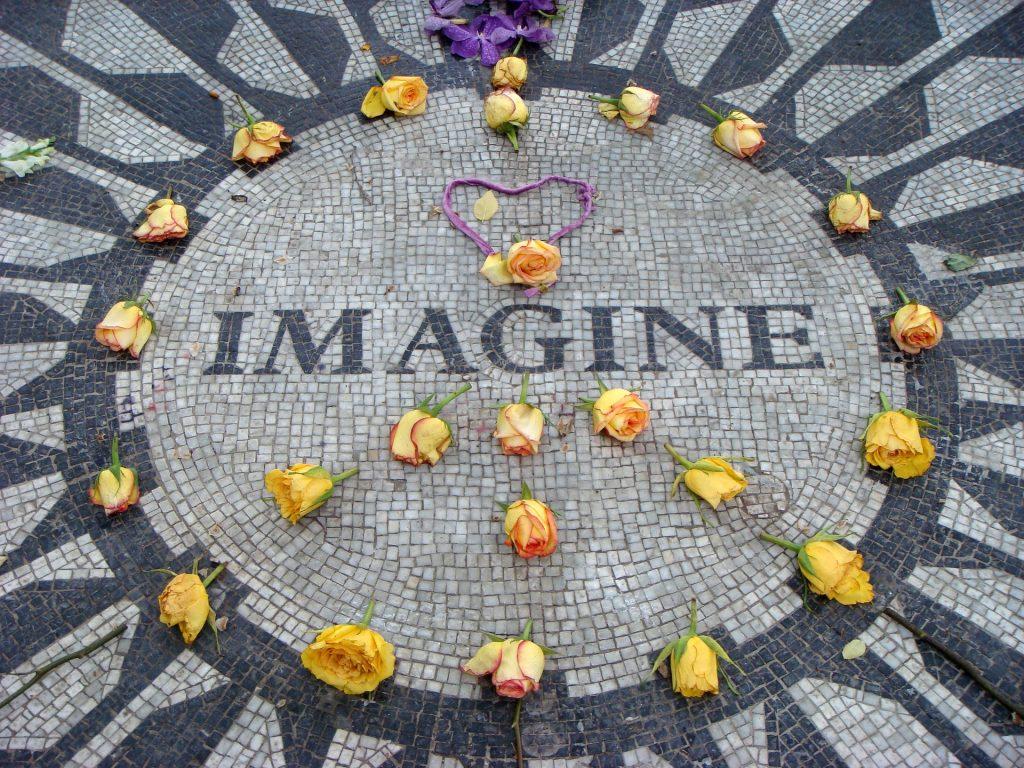 Imagine John Lennon New York Nova York EUA