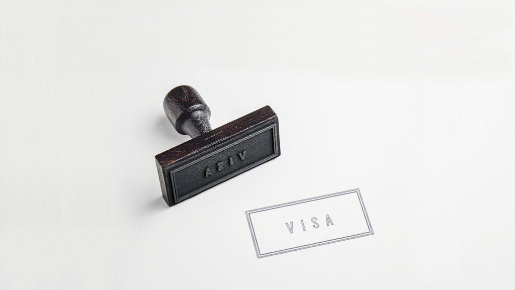 Carimbo passaporte visto visa