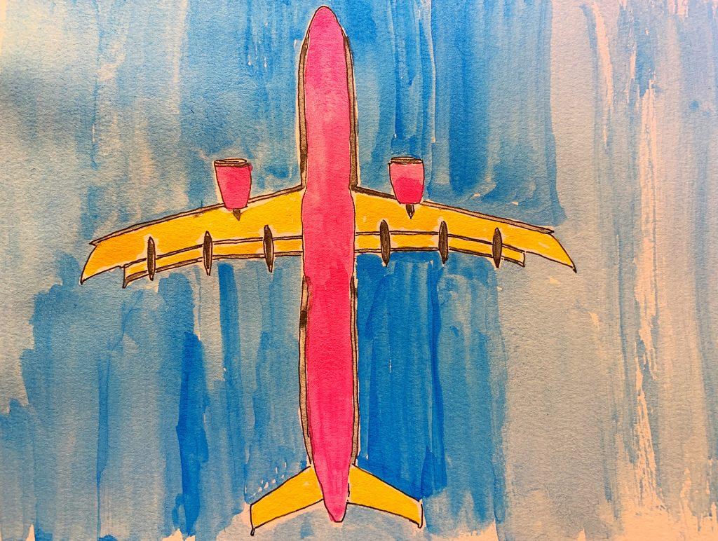 avião situação das cias aéreas