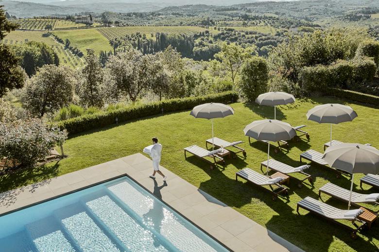Castello del Nero Hotel Toscana Itália