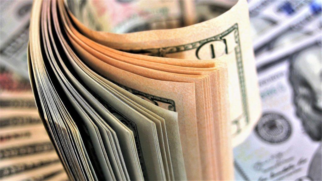 Dinheiro Dólar EUA