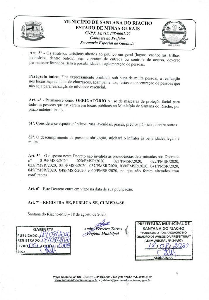 Decreto Reabertura Serra do Cipo Pagina 4