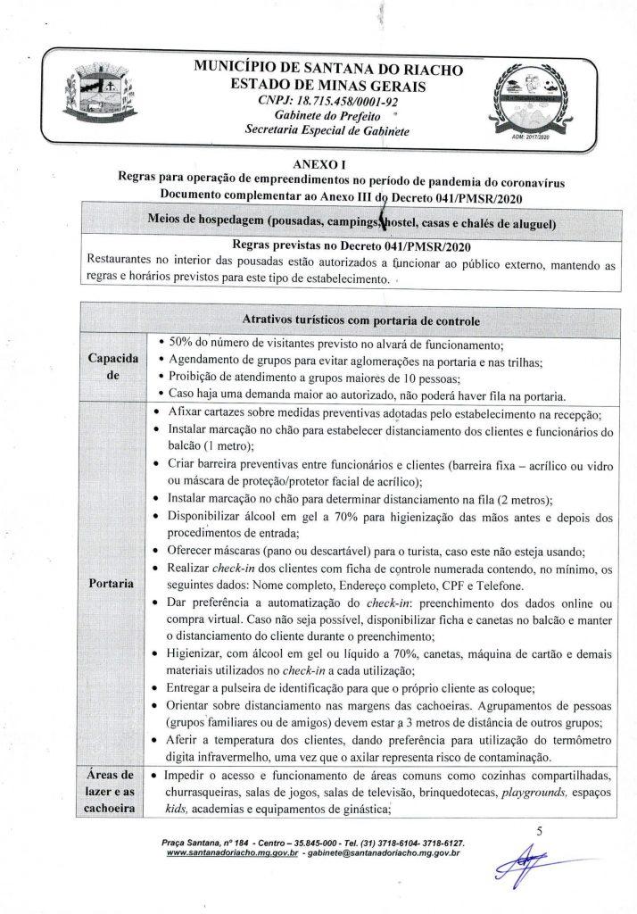Decreto Reabertura Serra do Cipo Pagina 5