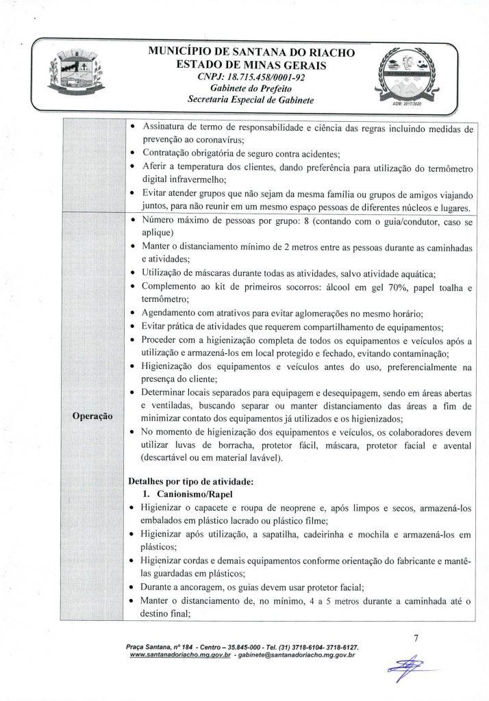 Decreto Reabertura Serra do Cipo Pagina 7
