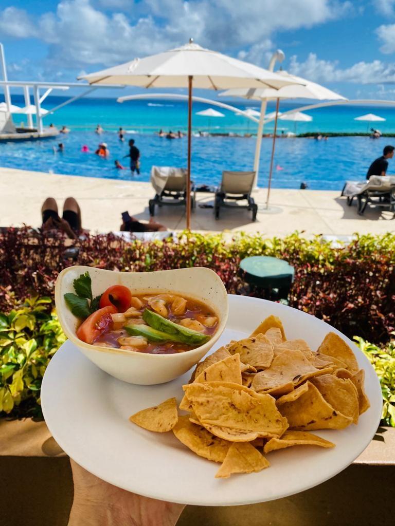 Aguachile Piscina Hard Rock Hotel Cancun