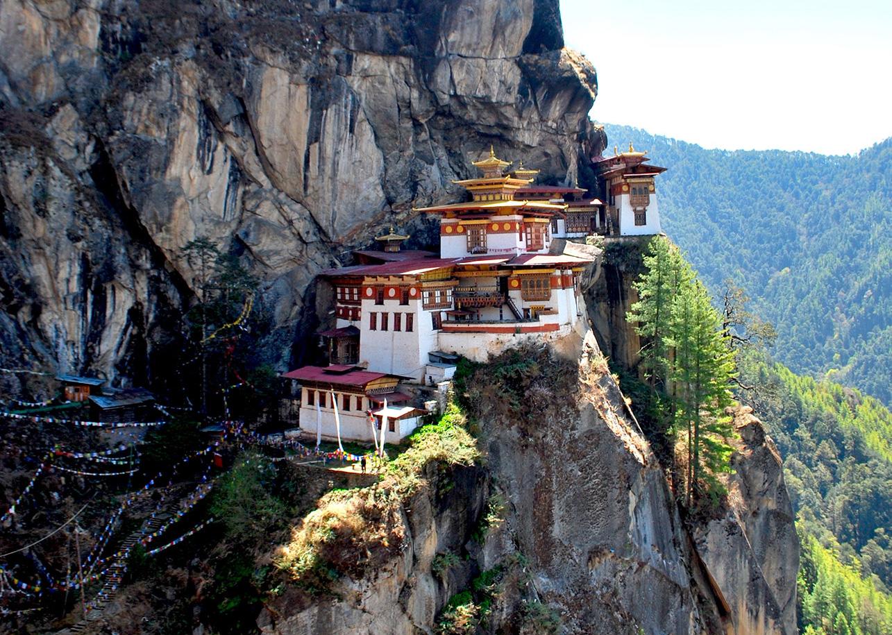 Tiger's Nest Butão