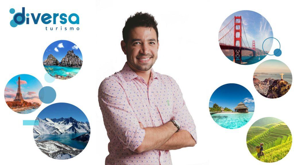 Hugo Lagares Diversa Turismo Dia do Agente