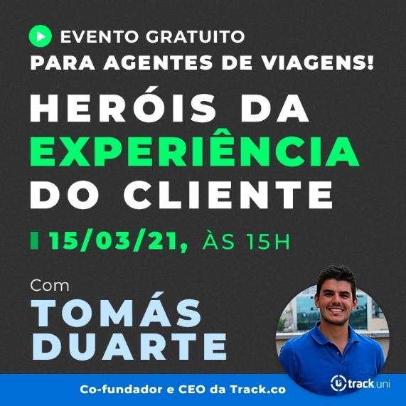 CVC Corp palestra Tomás Duarte