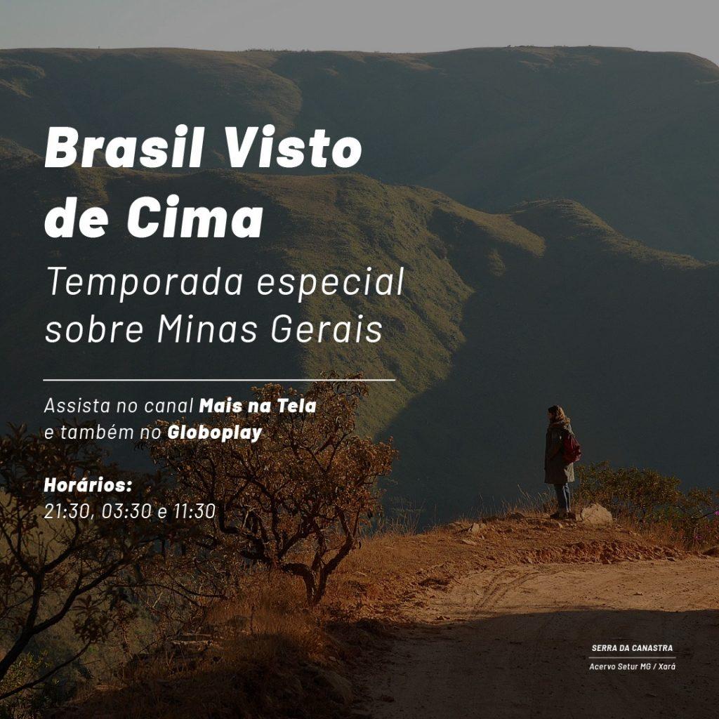 Minas Brasil Visto Cima
