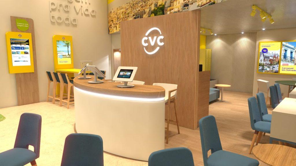Nova loja CVC