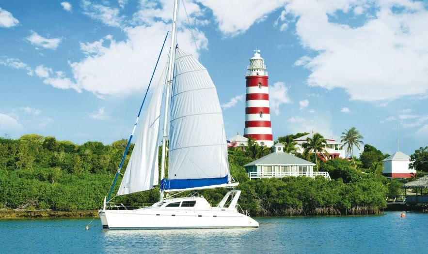 Iate férias nas Bahamas