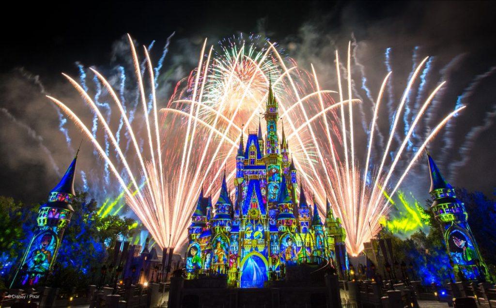 Disney Castelo Cinderela Fogos