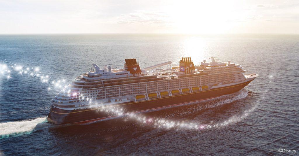 Navio Disney Wish cruzeiro marítimo